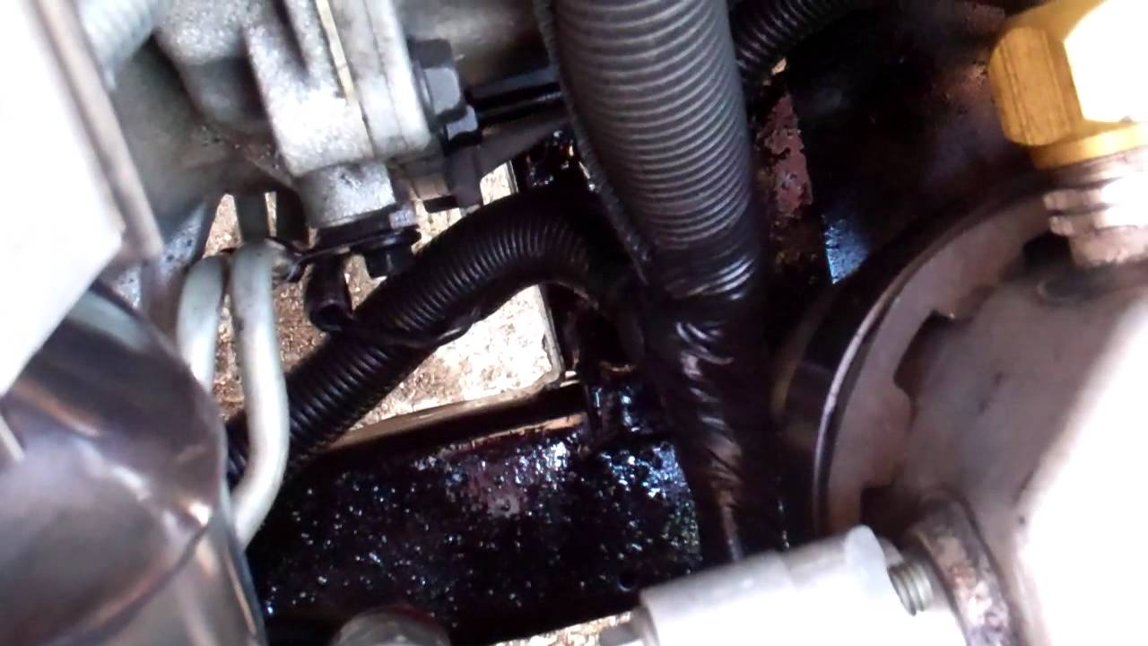 Buick Regal transmission Cooler line leak: Part 1 - YouTube