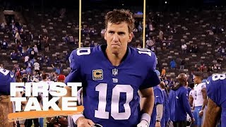 Eli Manning no longer elite? | First Take | ESPN