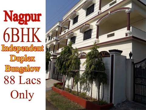 6BHK Independent Duplex Bungalow in Nagpur for 88lacs Only