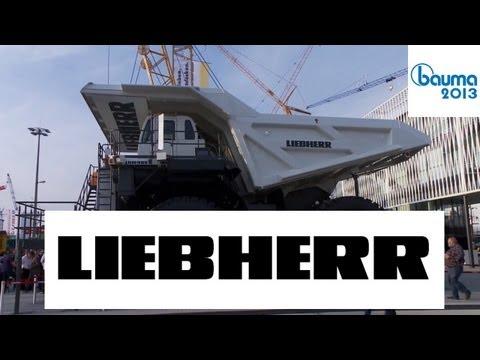Liebherr Mining Truck T264, Miningbagger R 9400, Miningbagger R 9800 - Bauma 2013