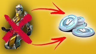 HOW TO REIMBURSE YOUR SKINS and RECOVER VBUCKS-Fortnite