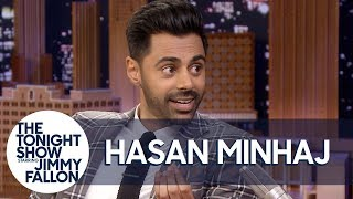 Hasan Minhaj's Dad Caught a Pigeon with His Bare Hands to Make a Point