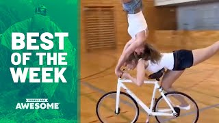 Bottle Cap Challenges & Bike Skills | Best of the Week Video