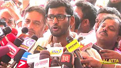 Their Atrocities are Recorded in Camera | Vishal Clarifies