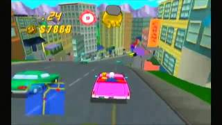 The Simpsons  Road Rage Game Cube part 1