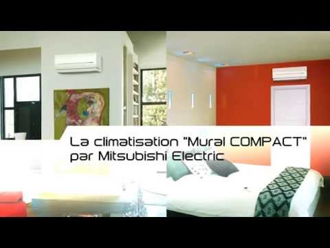 Climatiseur Mural Réversible Compact Msz Sf De Mitsubishi Electric