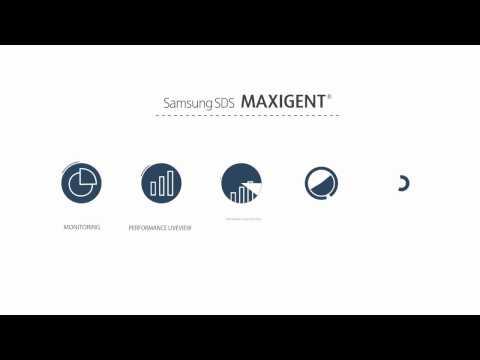 Samsung SDS MAXIGENT Plus Solution Demo
