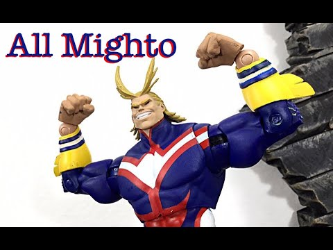 Mcfarlane Toys My Hero Academia All Might Action Figure Review