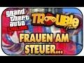 FRAUEN AM STEUER    - GTA V ONLINE STUNT RENNEN ★Let s Play Grand Theft Auto