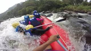 White Water Rafting at Kitulgala Sri Lanka  - The Fall