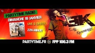Esy Kenenga at Party Time radio show - 19 JAN 2014