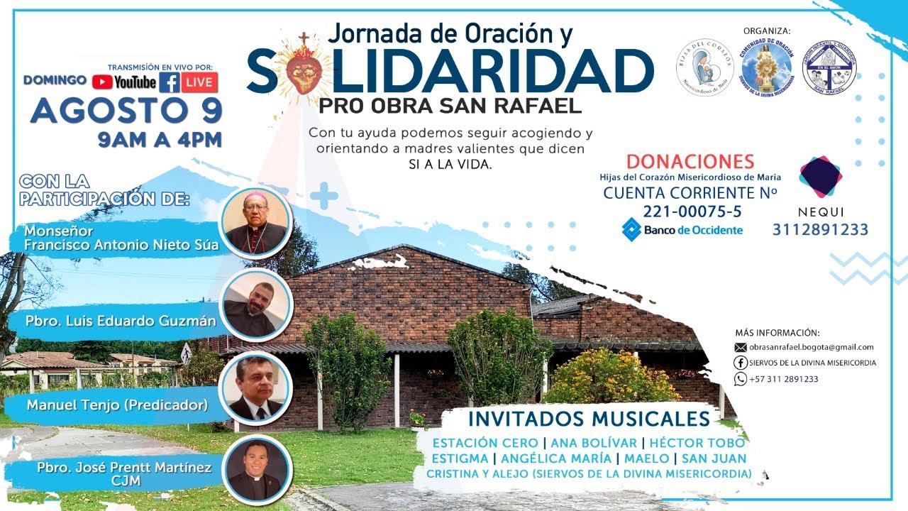 #Live Jornada de Oración y Solidaridad