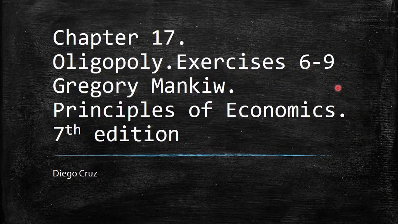 9 principles of economics