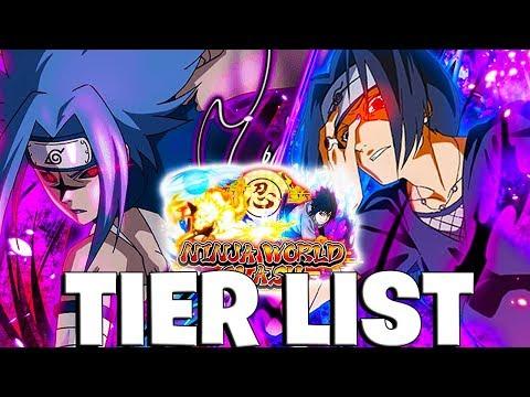 Naruto Blazing's PVP Tier List (CM2 SASUKE IS META AGAIN!)
