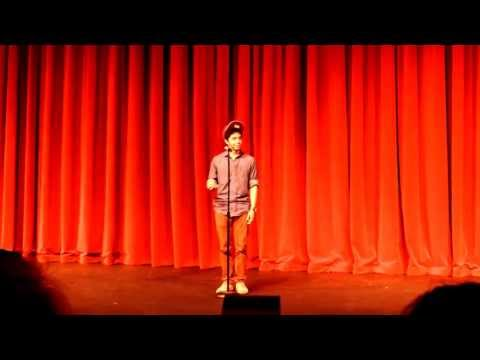 1st Place Poetry Slam 2013 Winner