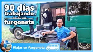 👉Trabajar por Internet viajando en furgoneta [Vivir y viajar en furgoneta camper]