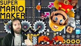 The Alternative to a SUPER KAIZO (Amazing Levels) | Super Mario Maker [GAMEPLAY]