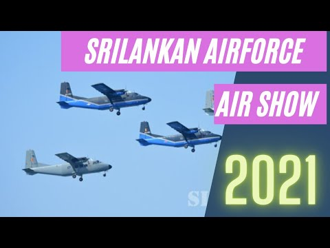 Srilankan Air force | Air show 2021 | Beauty of Srilanka | Galleface Colombo | இலங்கை