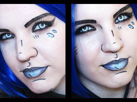 Gaige: borderlands 2 makeup/hair/cosplay tutorial youtube.