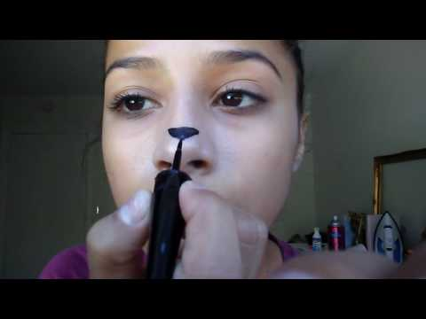 Drawing a Lady twerking on my nose!!!,,skip to 11:23 for the dance,and before for all of the steps!
