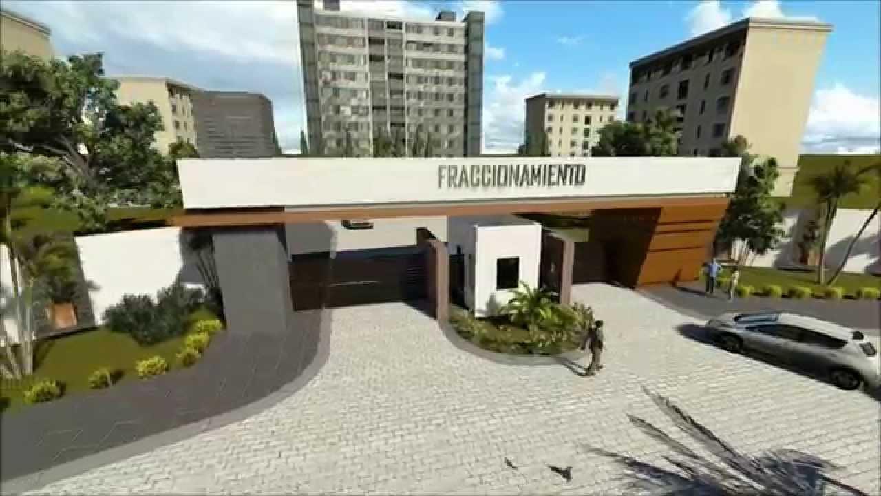 Dhp portico acceso youtube for Portico moderno