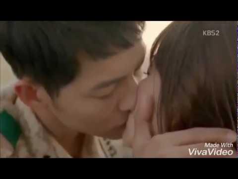 Ciuman seksi artis korea Soong joong ki & Han Hyo joo thumbnail