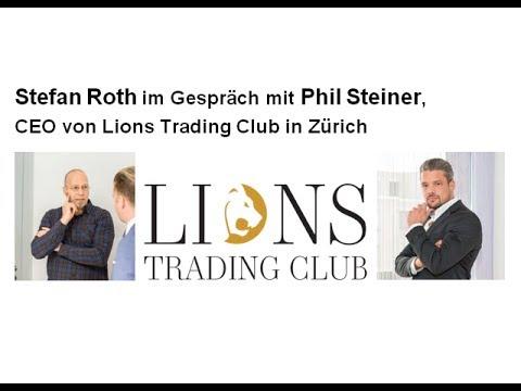 Interview Phil Steiner, CEO von Lions Trading Club