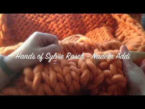 XXXL Decke stricken leicht gemacht – ohne Wenden