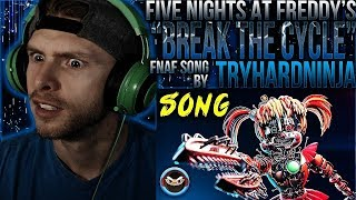 """Vapor Reacts #737   [SFM] FNAF ENDING SONG ANIMATION """"Break The Cycle"""" by TryHardNinja REACTION!!"""