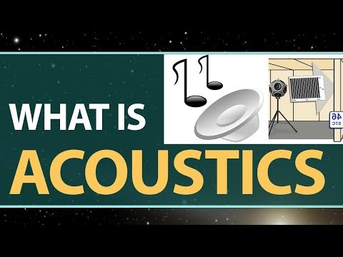 What is Acoustics in Physics | Definition & Explanation | Physics Concepts