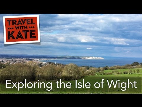 The Isle of Wight and The Royal Hotel on Travel with Kate