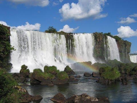 Балаковский водопад с высоты птичьего полёта... Снято 4k
