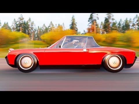 BUILD ON THE VERY RARE PORSCHE 914 | Forza Horizon 4 thumbnail