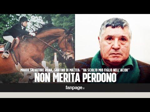 Morto Totò Riina, parla Santino Di Matteo: 'Ha sciolto mio figlio nell'acido, non merita perdono'