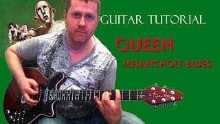 My Melancholy Blues - Queen - guitar tutorial