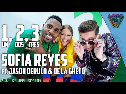 Sofia Reyes  1 2 3 ftJason Derulo & Dela Ghetto EnglishSpanishKurdish Translation
