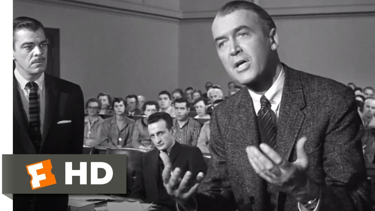 Download Anatomy of a Murder (1959) - I Beg the Court! Scene (5/10)   Movieclips