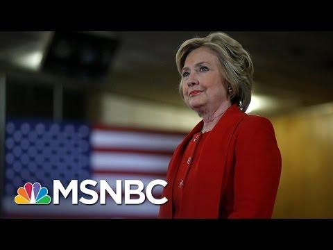 Hillary Clinton Holds National Lead Heading Into Debates   MSNBC