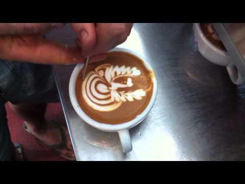 LATTE ART - BEAN JAMMING (ONA COFFEE)