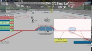 ROBLOX hhcl 3 on 3 pt.1 how to be goalie