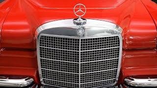 w100 Mercedes-Benz 600 Sedan high-end luxury classic car 1969