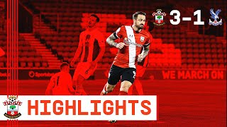 90 SECOND HIGHLIGHTS: Southampton 3-1 Crystal Palace | Premier League