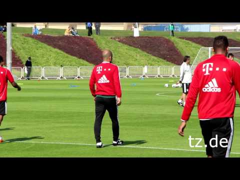 FC Bayern in Doha - Tag 5: Die Highlights vom Training
