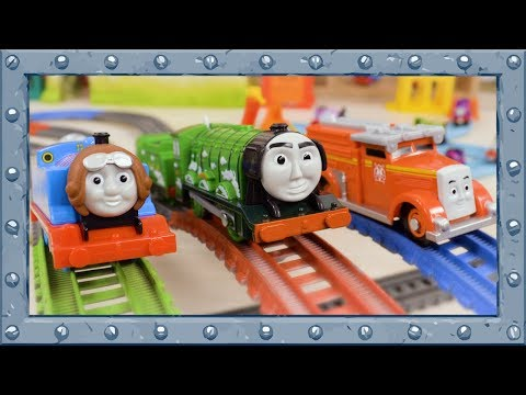 Red vs Blue vs Green - Which Color is Fastest? - Thomas and Friends