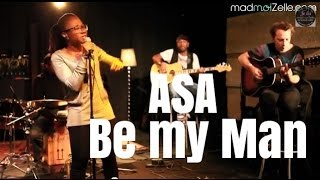 "Asa ""Be My Man"" - studio live"