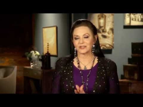 Crystal Gayle on the Set of Country Music of Your Life