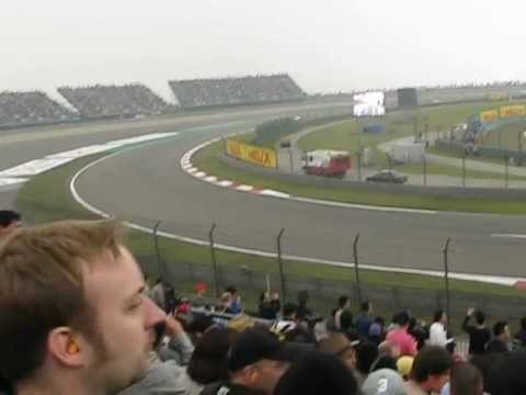F1 China 2012 Qualification on tribune B1