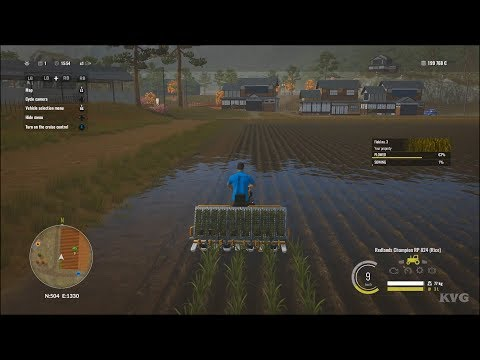 Pure Farming 2018 - Cultivate & Harvest The Rice - Open World Free Roam Gameplay HD
