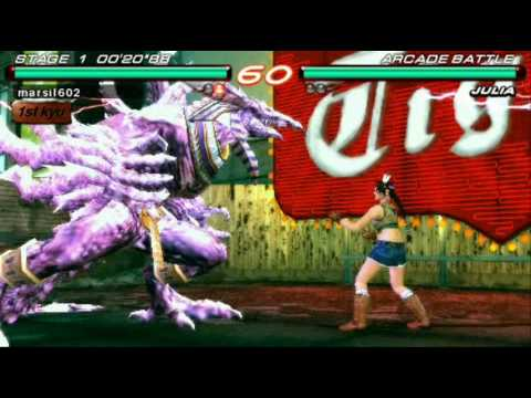 Tekken 6 Psp Play As Azazel Cwcheat S Youtube