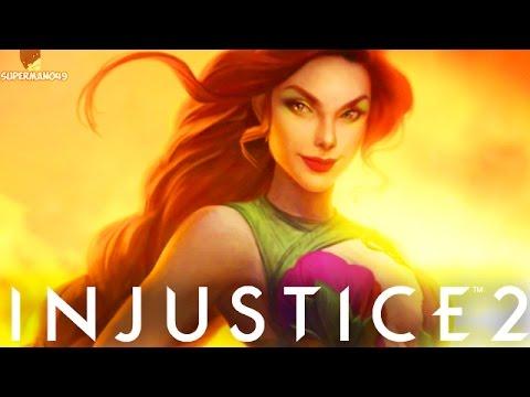 "Injustice 2 ""Poison Ivy"" Ending! - Injustice 2 Poison Ivy Multiverse Story Ending"